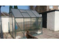Greenhouse for sale & water tank