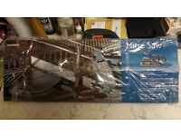 A Mitre jig & saw boxed up & Black & Decker Jig saw (used) the saw works fine & in good condition