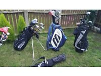 Gollf equipment bags clubs irons alk random prices can sell cheaper if you buy more items!