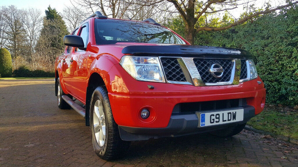 2006 Nissan Navara D40 Dci Outlaw Double Cab Red 93321 Miles