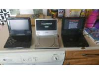 3 portable DVD players