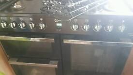 Dual power cooker