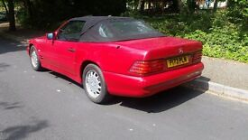 Mercedes SL320 Automatic1997 Preg with Pa noramic hard top