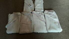 Set of 6 baby hooded towels