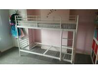 White Ikea bunk bed