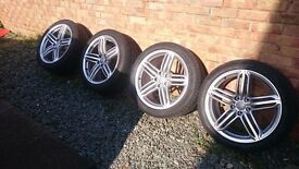 Genuine Audi Alloy wheels 19 inch