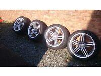 Genuine Audi Alloy wheels 19 inch