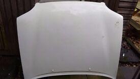 Ford Escort mk7 van bonnet in white