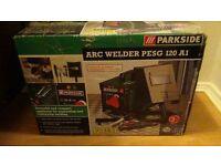 Arc welder + accessories /brand new