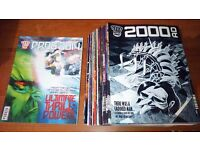 Every issue of 2000AD from 2014 (Progs 1862 to 1911 + Christmas Special)