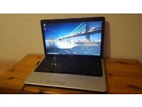 "Dell Inspiron 1750 Laptop, Intel Dual Core, 4GB RAM, 320GB Hard Drive, 17.3"" HD LED, HDMI, Webcam"