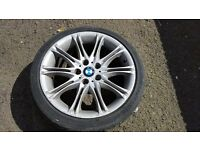 Bmw mv2 single alloy wheel