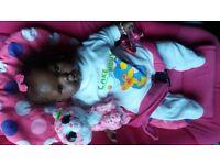 Black Reborn Doll