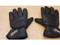 RST leather Motorcycle gloves XL