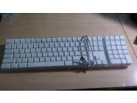 Apple Mac Keyboard, White with 2 x USB Hub