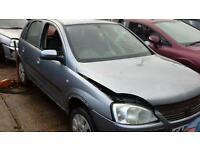 Vauxhall corsa c breaking for parts