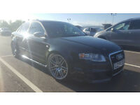 2006 (06) - Audi RS4 Quattro 4.2 V8 (Remapped to 460bhp) 4-Door BLACK M.O.T YEAR