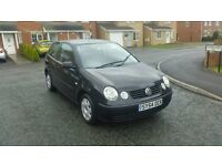 2005 VW POLO 1.2 TWIST 1 LAD OWNER FROM NEW LOW MILES FULL MOT
