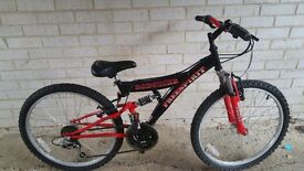 "Boys Bike - 24"" wheels - Had very little use"