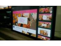 Panasonic 50 inch screen full HD lcd free view TV £160