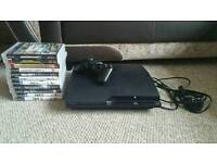 Playstation 3 slim 300gb with 11 games