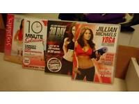 4 fitness dvds