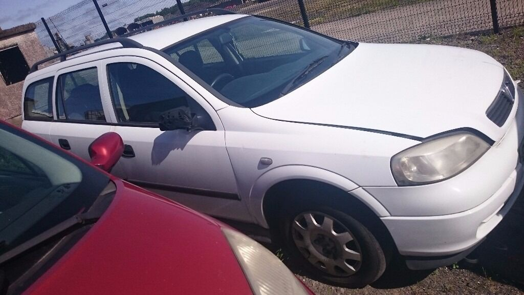 2002 VAUXHALL ASTRA ENVOY, 1.7 DTI, BREAKING FOR PARTS ONLY, POSTAGE AVAILABLE NATIONWIDE