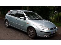 Ford Focus 1600 Ghia, Green/Silver 2004