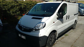Vauxhall Vivaro 2700 swb low roof 2.0CDTi 115ps 2011 White (No VAT)