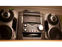 Sony Hi-Fi Stereo 3 CD Changer Music System
