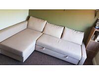 Ikea Friheten Sofa Bed - Beige
