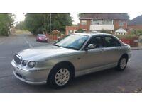 Rover 75 . 2003 . 1 year mot .ptrol . 64000 miles