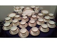 SALISBURY BONE CHINA TEA POT CUPS SAUCERS PLATES JUGS - SARUM