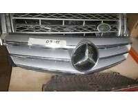 Mercedes benz w204 C class front grill