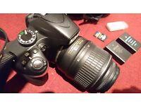 Nikon SLR camera bundle
