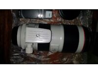 Canon EF 70-200mm F/2.8L IS II USM Lens Top condition All accesories