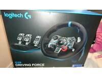 Logitech g29 ps4/3 pc wheel