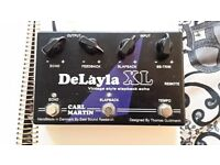 """""""Carl Martin DelayLa XL"""", Analog Echo Pedal in perfect conditions"""