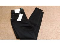 Brand New With Tags Girls Black Jeans/Jeggings Age 10-11 Years