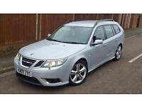 SAAB 9-3 AERO TTiD TWIN TURBO 2008, GREAT CAR, PART EXCHANGE TO CLEAR