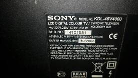 50 inch sony lcd television