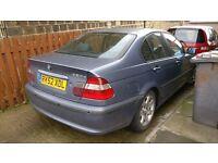 2003 BMW 320D SE 4DR DIESEL BLUE 2002 REG BLUE