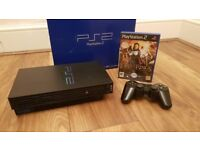Playstation 2 with Controller & Box