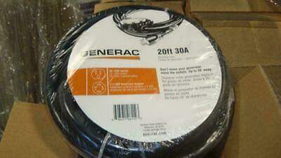 Generac 6112 30 Amp Portable Generator Extension Cord 20 Ft
