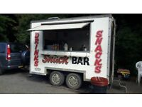 Fully working catering trailer business for sale