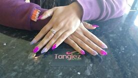 Self Employed Nail Technician at Tanglez Hair & beauty