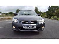 08 Subaru Legacy Grey 2.0R 4WD 4X4, face lift model, Brand New MOT to 10th Aug 18