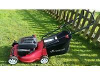 Sovereign 3.5hp petrol push lawnmower vgc