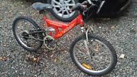 Mountain Bike, 6 speed, 20 inch tires
