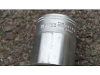 "Britool 33mm Bi-Hexagonal HBM33 Socket with 3/4"" Square Drive"